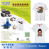 Light Color Heat Press Paper Suitable for Ink-Jet Printer