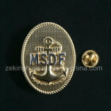 High Quality Custom Design Badge with Two Tone Plating