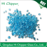 Ocean Blue Colored Glass Beads for Swimming Pool Decoration