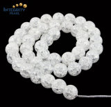 Size 6 8 10 12 14mm Synthetic Crystal Loose Strand Frizzling Crystal Glass Beads