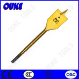 Hexagon Shank Titanium Coated Wood Flat Drill