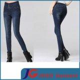 High Waist Three- Buckle Lady Fashion Jeans (JC1208)