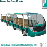 Electric Shuttle Bus Train, Electric Shuttle Bus with Trailer, 23 Seats, Eg6118tb+Eg6118tb Trailer