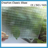 6mm Clear Nashiji Wired Float Glass for Door Glass 1830*2440mm