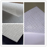 Self Adhesive One Way Vision Mesh Vinyl Rolls