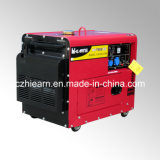 5.5kw Red Color Silent Diesel Generator Set (DG7500SE)