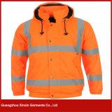 Winter Reflective High Visibility Safety Parka Jacket (J78)