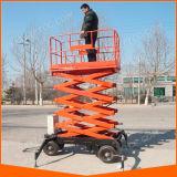 Ce ISO China Hydraulic Electric Small Mini Scissor Lift Platform