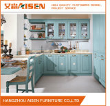 Special Color Natural Solid Wood High Quality Kitchen Cabinet
