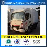 Sinotruk 4X2 Single Cab Van