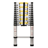 Best Selling En131 Approved 3.8m Telescopic Ladder with Finger Portection