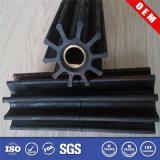 NBR/EPDM Heat Resistant Flexible Pump Rubber Impeller
