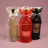High Quality Satin Mixed Lace Gift Bag
