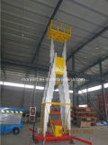 Manual Hydraulic Vertical Model Mobile Man Lift