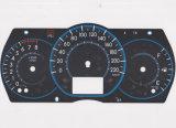 Customize Tactile PC / Pet RoHS Car Dashboard Graphic Overlay Panel