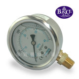 Yn Vibration-Proof Stainless Steel Pressure Gauge