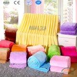 Various Colors Coral Fleece Blanket Bedding Set