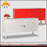 House Decoration Steel 2 Door TV Cabinet PS Display Cabinet