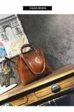 2017 New Arrival Snake Print Saffino PU Leather Designer Handbag for Women