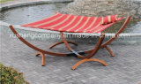 Pure Cotton Canvas Wood Frame Outdoor Rope Hammock Chair