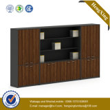 Glass Wooden Door Alumnium Bookshelf Storage Bookcase Filing Cabinet (UL-ND248)