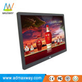 Square MP3 MP4 Loop Video 15 Inch Ultra Thin Digital Picture Frame (MW-1507DPF)