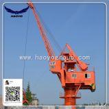 Dock Wharf 360 Degree Rotation Fixed Crane