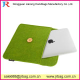 Top Quality Button Clouse Felt iPad Bag in Low Price for Wholesale