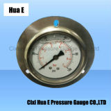 with Flange All Stainless Steel Pressure Meter