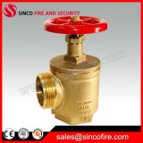 Fire Hose Angle Valve with Female Inlet and Male/Female Outlet