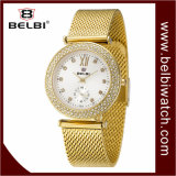 Belbi Luxury Stainless Steel Waterproof Quartz Lady Analog Wrist Watch
