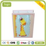 Mini Yellow Giraffe Baby Presents Coated Paper Shopping Gift Bag