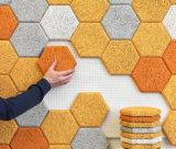 Interlocking Gym Floors /Hexagon Rubber Sideway/Driveway Paver /Square Rubber Tile