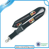 Submliamtion Polyester Lanyard Strap with Plastic Buckle