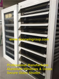 Aluminum Secure Glass Shutter Window