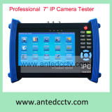 Handheld Multi-Function CCTV IP Camera Tester Monitor with Poe, Security Video Signal CCTV Testing Equipment