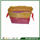 Luxury Mixed-Color Patterned Wedding Gift Drawstring Organza Bag