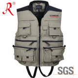 Functional Fishing Vest with Waterproof 5000mm (QF-1903)