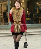 2014 Winter Ladies′ Natural Rabbit Fur Coat (Qy-C35)