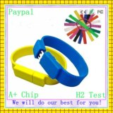 Promotional Gift Silicone USB Wristband (GC-S009)