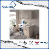 Double Doors Bathroom Vanity with Side Cabinet (ACF8909)