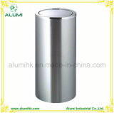 Hotel Stainless Steel Ashtray Bin with Swing Lid