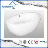 Bathroom Pure Acrylic Seamless Freestanding Bathtub (AB6501)
