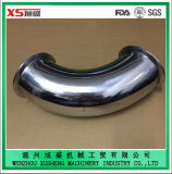 3A Standard Stainless Steel Ss304 Food Grade Tri Clover Elbow