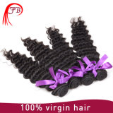 Deep Wave 100 Human Hair Indian Remy Hair Weave