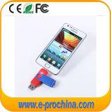 Promotion Customize Logo OTG Mobile Phones USB Flash Drive (ET009)