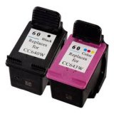 Remanufactured Ink Cartridges #60 #61 with Reset Chips
