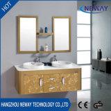 Wall Waterproof Steel Double Bathroom Washbasin Cabinet