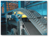 Large Angle Downward Belt Conveyor for Cement