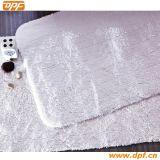 100% High Quality White Bath Rug and Rug (DPF2430)